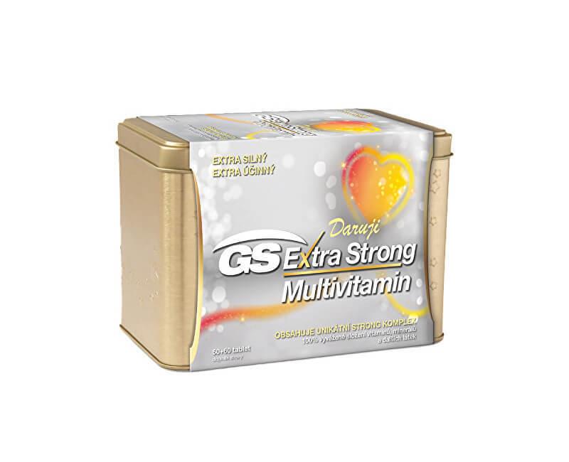 GS Extra Strong Multivitamin 60+60 tablet dárek 2019