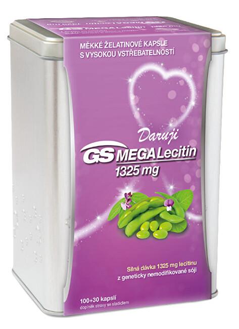 Zobrazit detail výrobku GS Megalecitin 1325 100+30 kapslí dárek 2019