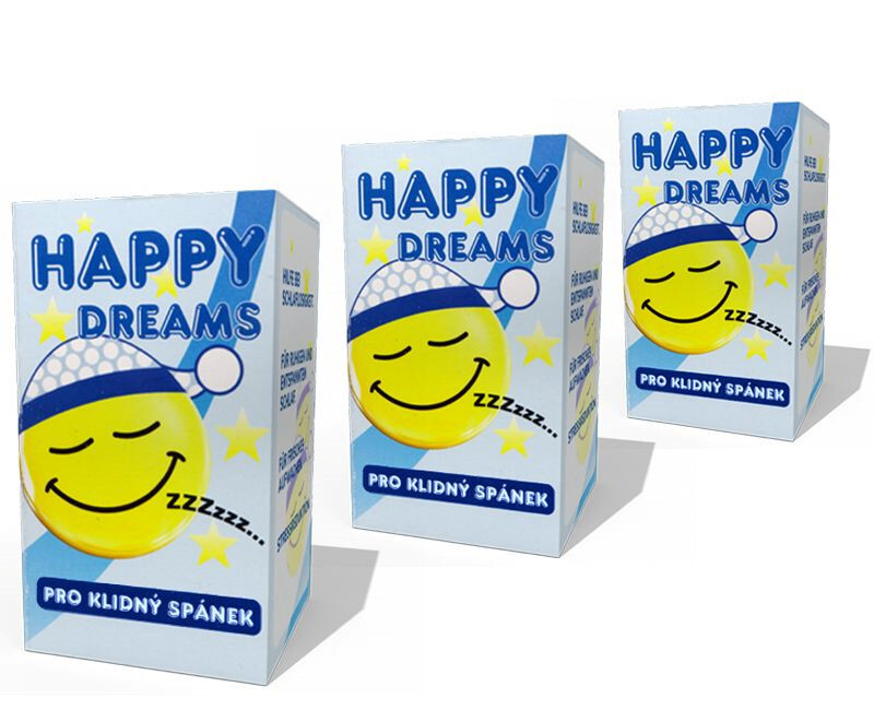 Zobrazit detail výrobku Vetrisol Happy Dreams 75 tablet 2+1