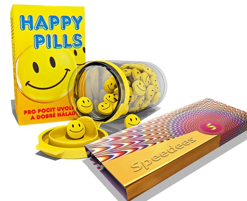 Zobrazit detail výrobku Vetrisol Happy Pills 75 tablet + Speedees 10 ks zdarma