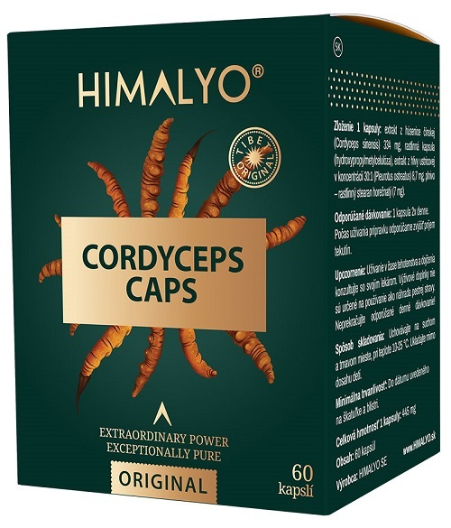 Himalyo Himalyo CORDYCEPS kapsle 60 ks