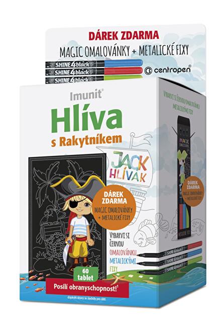 Zobrazit detail výrobku Simply You Hlíva JACK HLÍVÁK pro děti 60 tablet + Magic omalovánka