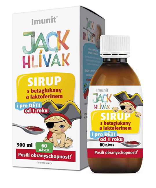 Zobrazit detail výrobku Simply You Hlíva JACK HLÍVÁK sirup 300 ml glukany a laktoferin