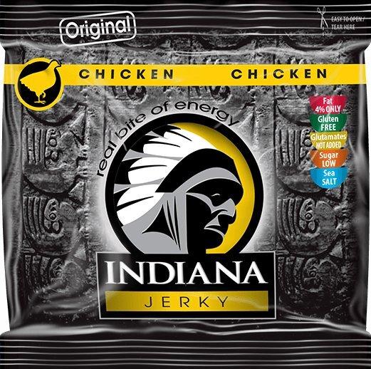 Indiana Indiana Jerky chicken (kuřecí) Original 60 g