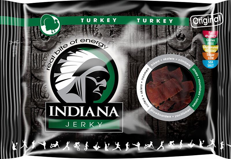Indiana Indiana Jerky turkey (krůtí) Original 100 g