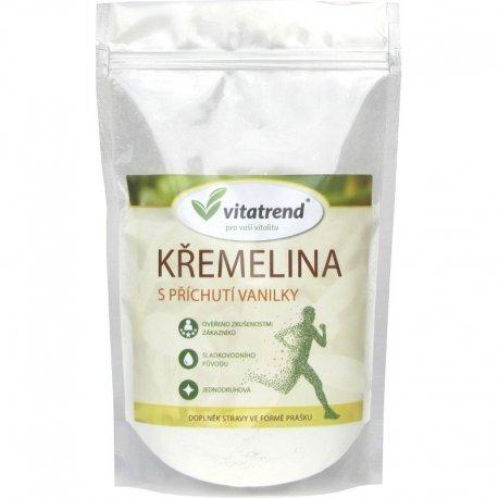 Vitatrend Křemelina Vitatrend 250 g s příchutí vanilky