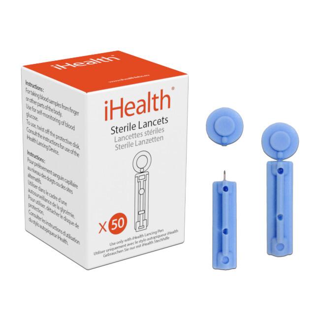 Zobrazit detail výrobku iHealth Lancety 30 GI, příslušenství glukometru iHealth BG5, BG1, 50ks