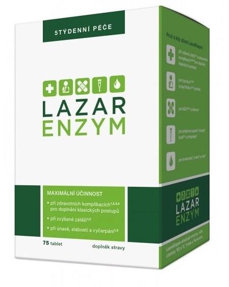 Zobrazit detail výrobku LazarEnzym LazarEnzym 75 tablet