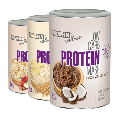 Zobrazit detail výrobku Prom-in Low carb protein mash 500 g Hruška