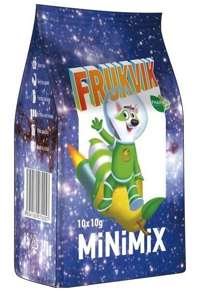 Zobrazit detail výrobku FRUKVIK MINIMIX FRUKVIK 10 x 10 g