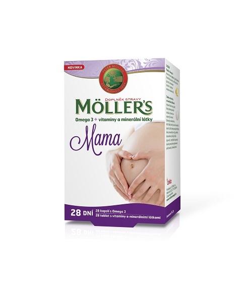 Zobrazit detail výrobku Möller´s Möllers Mama 28 dní 56 tablet