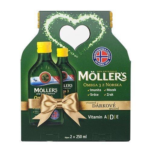 Möller´s Möller`s Omega 3 Citron 2 x 250 ml Dárkové balení