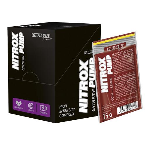 Zobrazit detail výrobku Prom-in Nitrox Pump Extreme 10 x 15 g Pomeranč