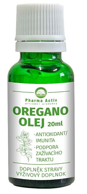 Zobrazit detail výrobku Pharma Activ Oregano olej s kapátkem 20 ml /Pharma Grade