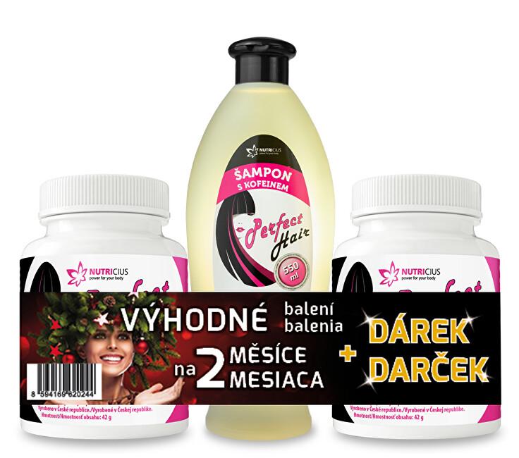Zobrazit detail výrobku Nutricius Perfect HAIR new 2 ks + šampon zdarma