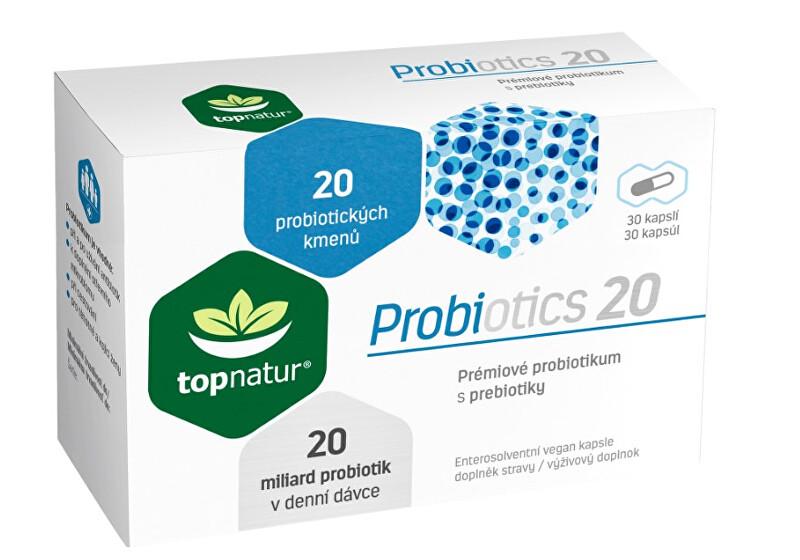 Zobrazit detail výrobku Topnatur Probiotics 20 Topnatur