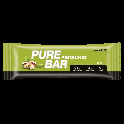 Prom-in Pure bar 65 g Pistácie