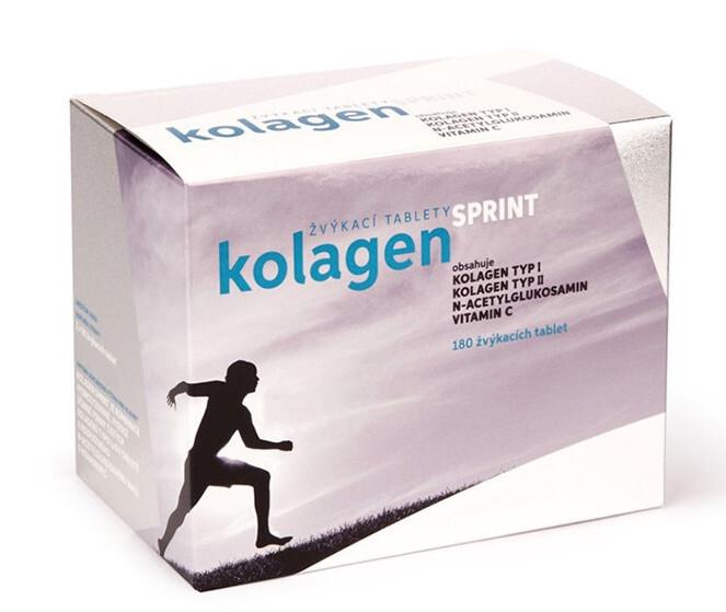 Rosenpharma Rosen Kolagen SPRINT 180 žvýkacích tablet