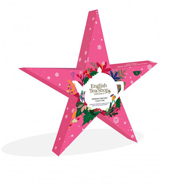 Zobrazit detail výrobku English Tea Shop Růžová hvězda - 6 pyramidek