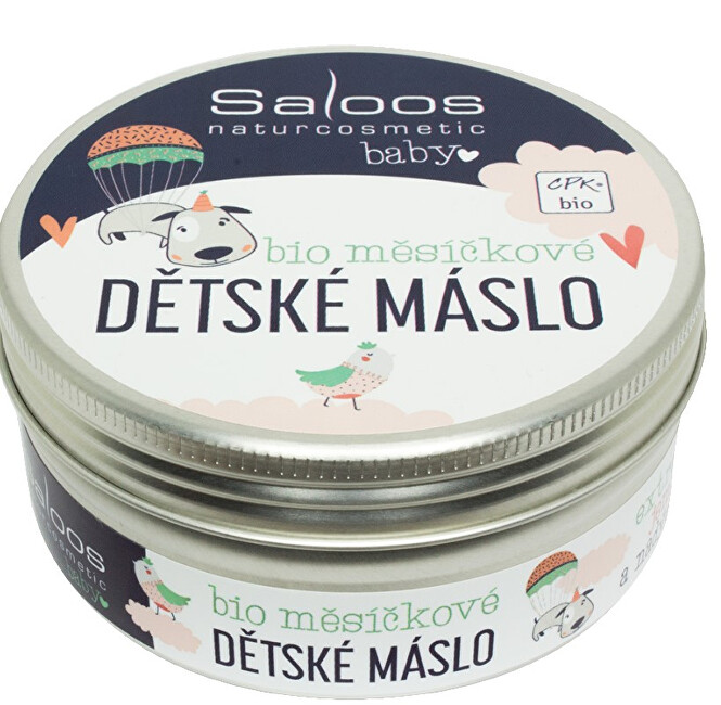 Zobrazit detail výrobku Saloos Šlehané bio měsíčkové dětské máslo 150 ml