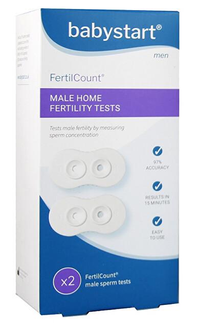 Zobrazit detail výrobku Adiel Test Mužské plodnosti Fertilcount 2 použití