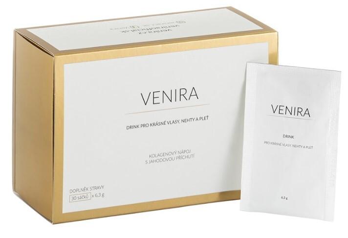 Zobrazit detail výrobku Venira VENIRA drink - instantní kolagenový nápoj s jahodovou příchutí 30 x 6,3 g