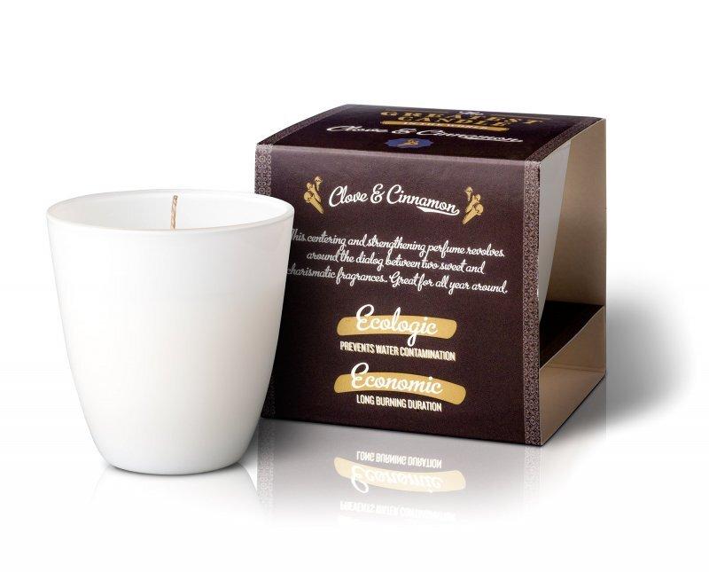 Zobrazit detail výrobku The Greatest Candle in the World Vonná svíčka ve skle 130 g Hřebíček a skořice