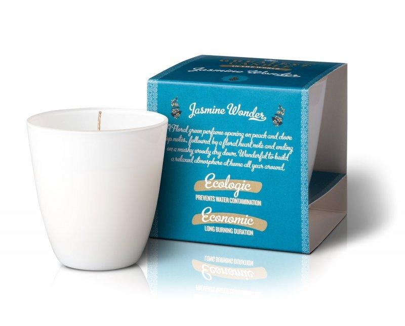 Zobrazit detail výrobku The Greatest Candle Vonná svíčka ve skle 130 g Jasmínový zázrak