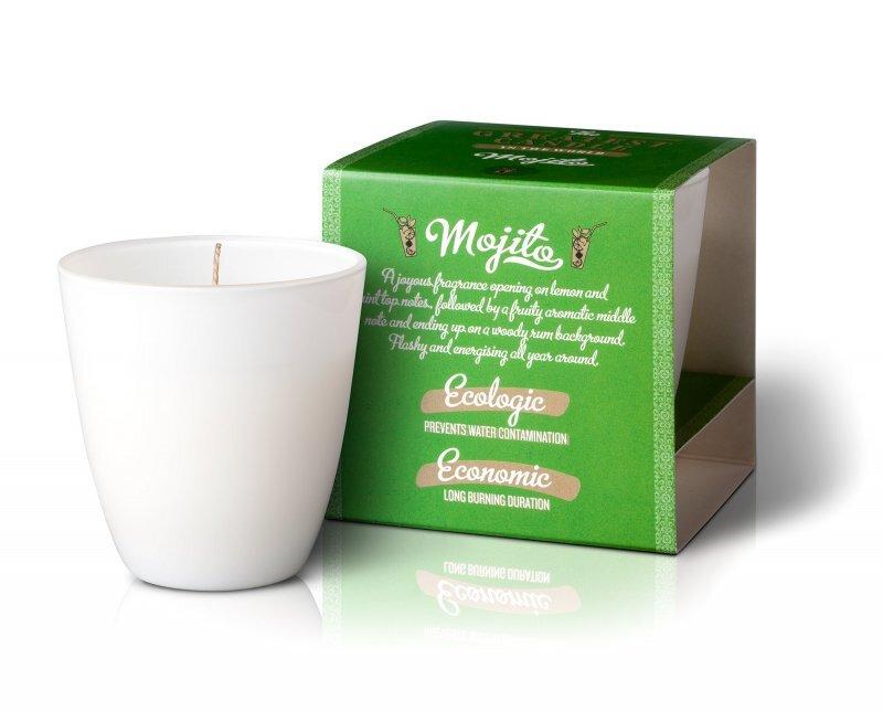 Zobrazit detail výrobku The Greatest Candle in the World Vonná svíčka ve skle 130 g Mojito