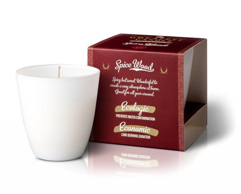 Zobrazit detail výrobku The Greatest Candle Vonná svíčka ve skle 130 g Dřevo a koření