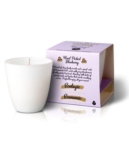 Zobrazit detail výrobku The Greatest Candle Vonná svíčka ve skle 130 g Borůvky