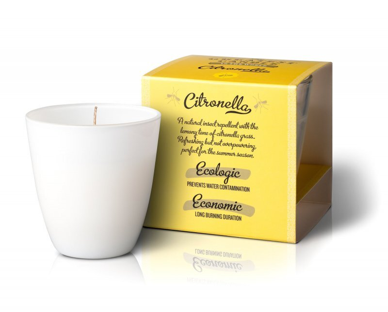Zobrazit detail výrobku The Greatest Candle Vonná svíčka ve skle 130 g Citronela (s repelentním účinkem)