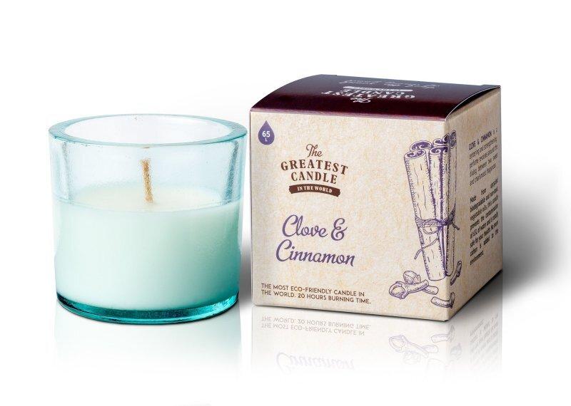 Zobrazit detail výrobku The Greatest Candle in the World Vonná svíčka ve skle 75 g Hřebíček a skořice
