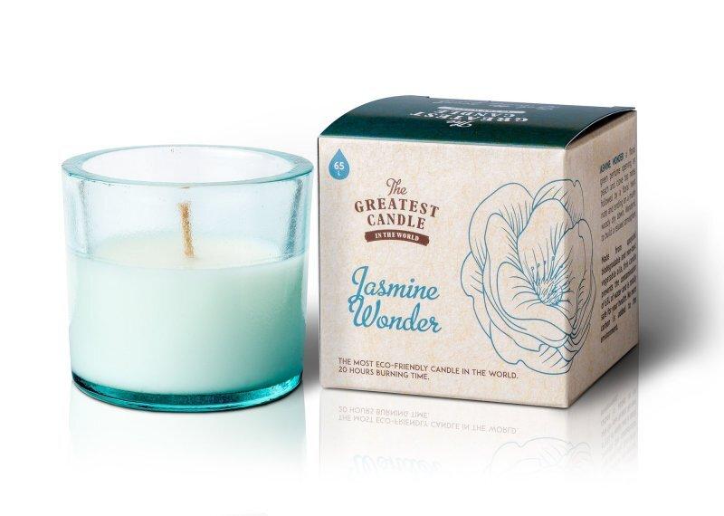 Zobrazit detail výrobku The Greatest Candle Vonná svíčka ve skle 75 g Jasmínový zázrak