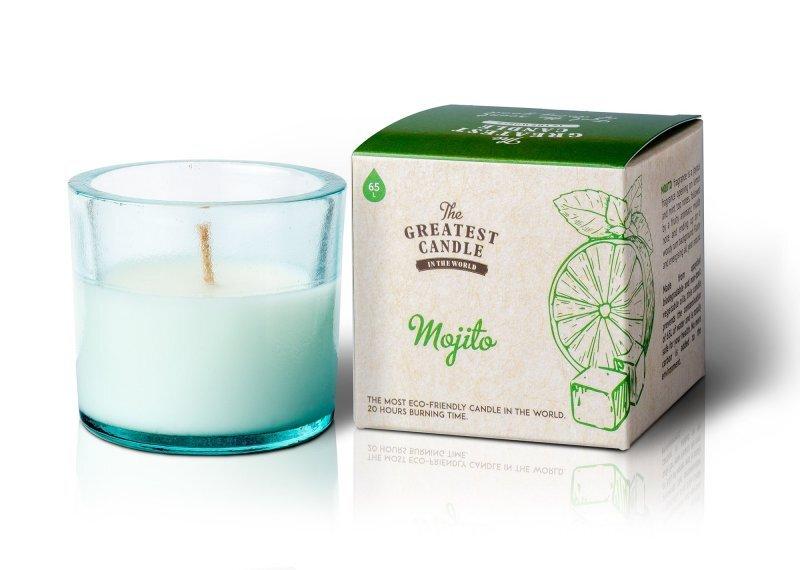 The Greatest Candle Vonná svíčka ve skle 75 g Mojito
