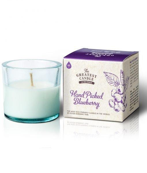 Zobrazit detail výrobku The Greatest Candle Vonná svíčka ve skle 75 g Borůvky