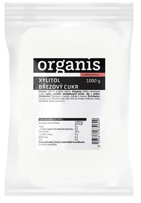 Zobrazit detail výrobku Organis Xylitol - březový cukr 1000 g