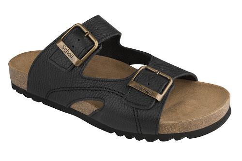Scholl MOLDAVA černé zdravotní pantofle