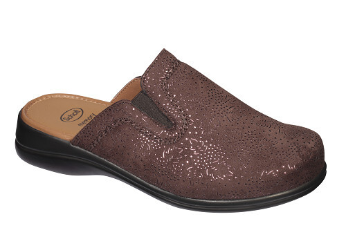 Scholl Zdravotní obuv NEW TOFEE BROWN 37