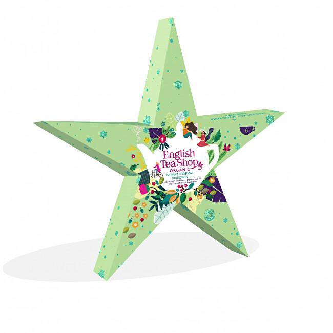 Zobrazit detail výrobku English Tea Shop Zelená hvězda, 6 pyramidek