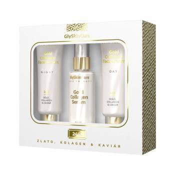 Zobrazit detail výrobku Biotter Pharma Zlatá sada krém na obličej se zlatem denní 50 ml + noční 50 ml + sérum 50 ml