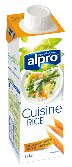 Zobrazit detail výrobku Alpro Alpro rýžová alternativa smetany na vaření 250 ml