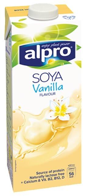 Alpro Alpro sójový nápoj s vanilkovou příchutí 1 l