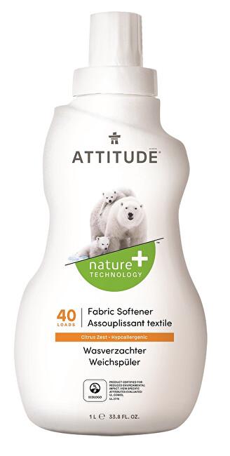 Zobrazit detail výrobku ATTITUDE Nature+ Aviváž ATTITUDE s vůní citronové kůry 1000 ml (40 pracích dávek)