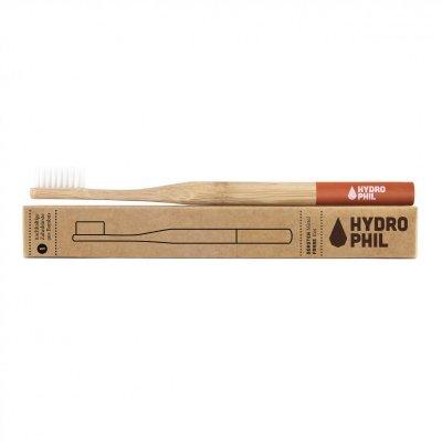 Zobrazit detail výrobku Hydrophil Bambusový kartáček medium Červený