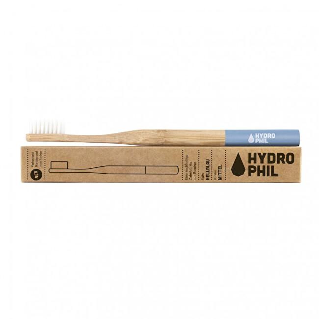 Zobrazit detail výrobku Hydrophil Bambusový kartáček medium Modrý