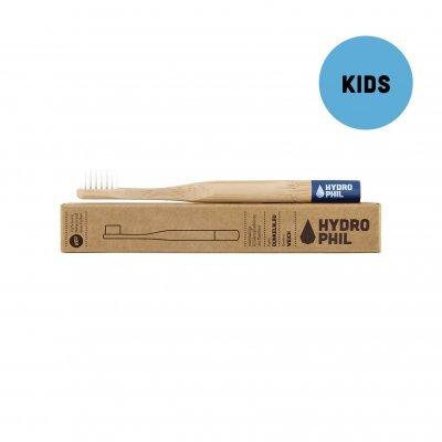 Zobrazit detail výrobku Hydrophil Bambusový kartáček pro děti (soft) Modrý