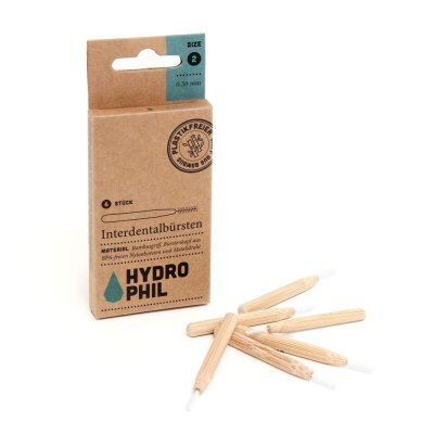 Zobrazit detail výrobku Hydrophil Bambusový mezizubní kartáček 6 ks 0,50 mm
