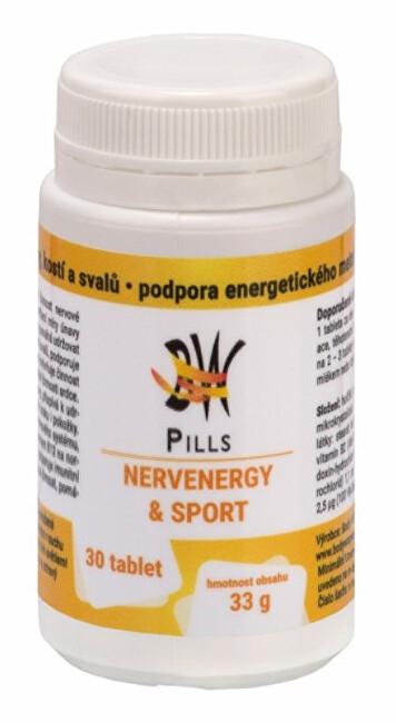 Zobrazit detail výrobku Body Wraps s.r.o. BW Pills NervEnergy&Sport 30 tablet