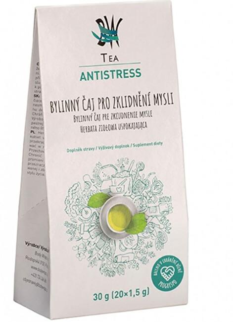 Zobrazit detail výrobku Body Wraps s.r.o. BW Tea Antistress - Bylinný čaj pro uklidnění 20 sáčků